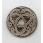 Celtic Shield Brooch handmade in Ireland